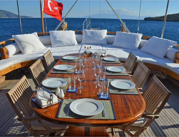 Charter Boat Sailing Greece