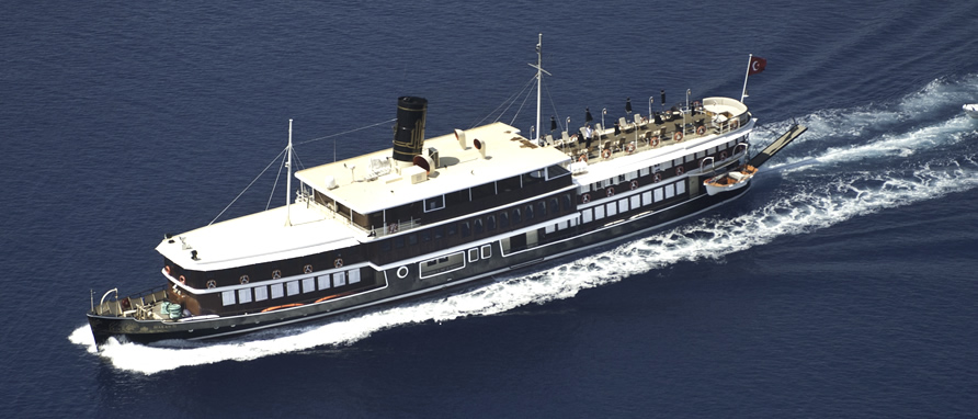 Motor Yacht Cruise Turkey