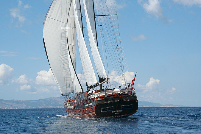 Gulet Chartering Greece And Turkey