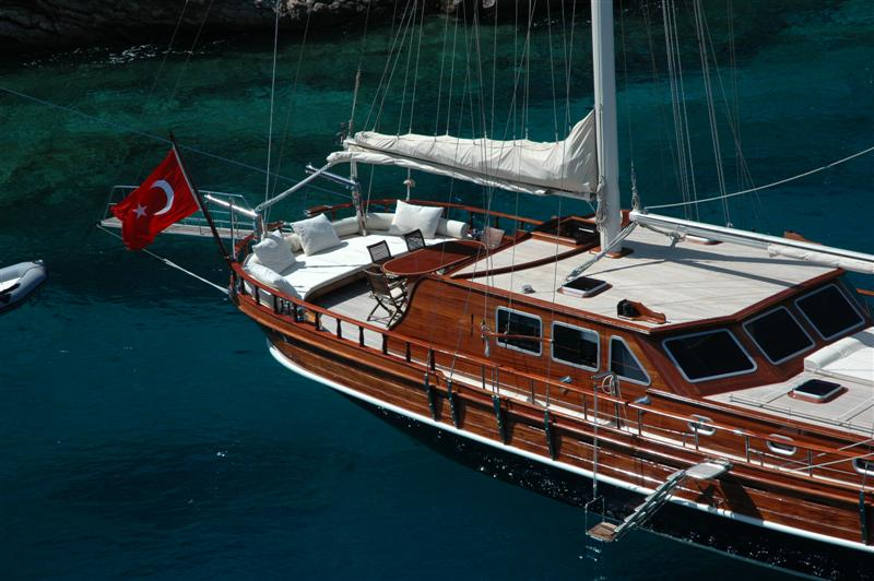 Yacht Exploring Turkey