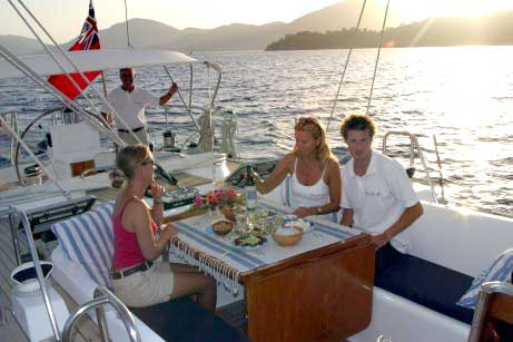 Crewed Yacht Sailing Greece